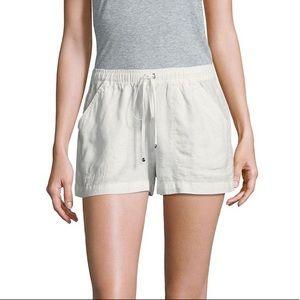 Max Studio NWOT Drawstring Linen Shorts